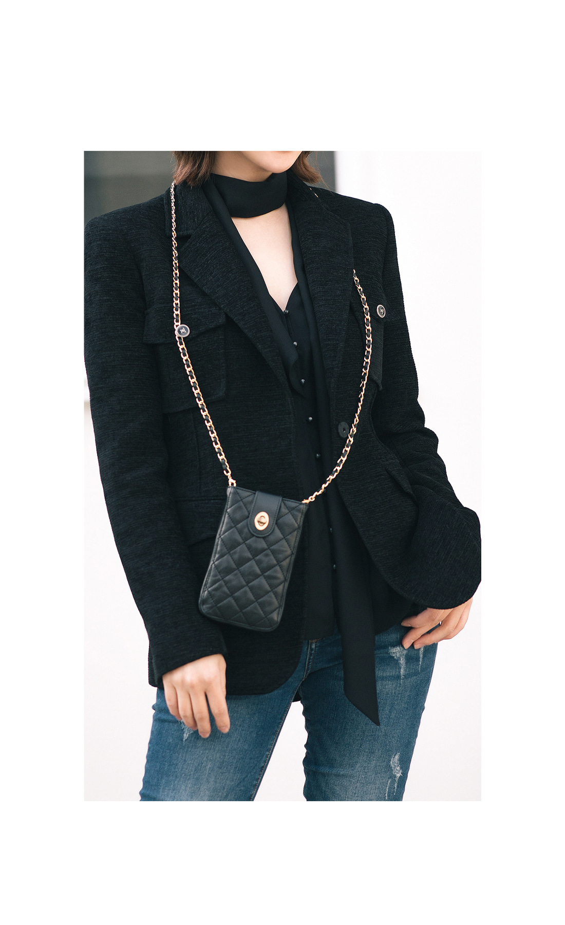 CLASSIC CHAIN MINI CROSS BAG