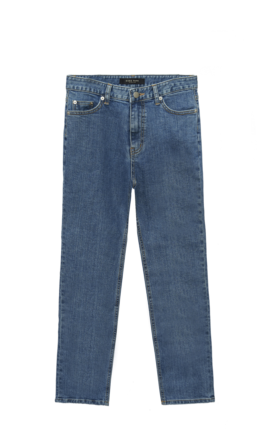 EG STRAIGHT MEDIUM BLUE JEANS