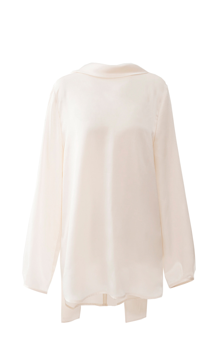 [바로배송]PHOEBE SILK BLOUSE