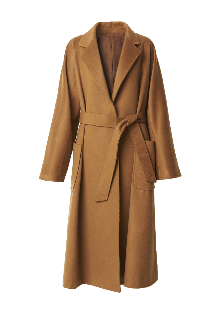 SOFT GLAM CASHMERE COAT