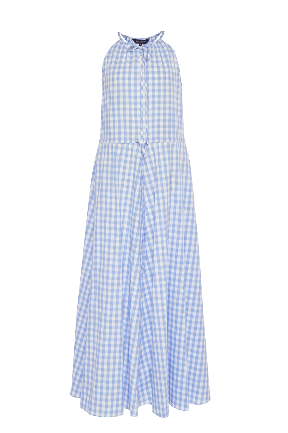 GINGHAM LONG DRESS