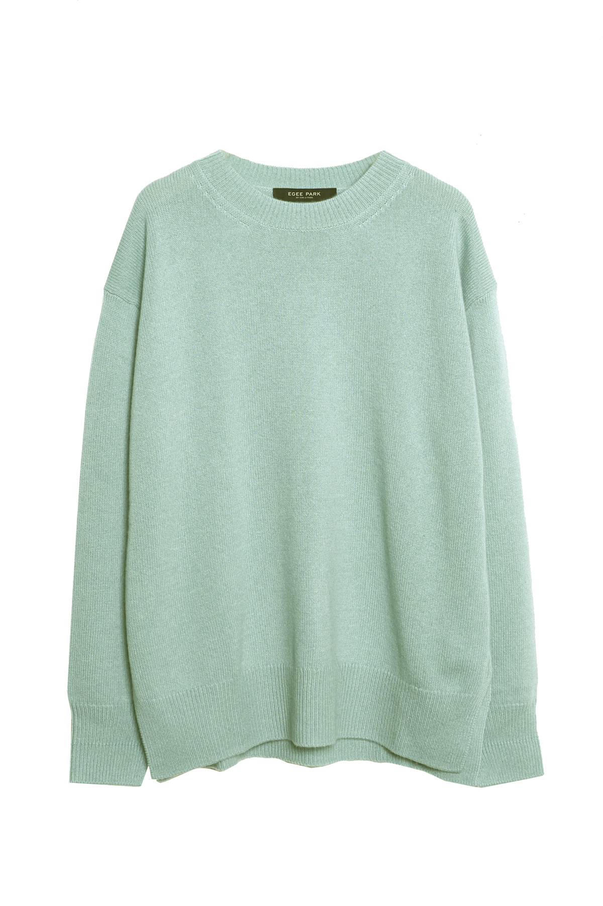 ROUND PURE CASHMERE KNIT