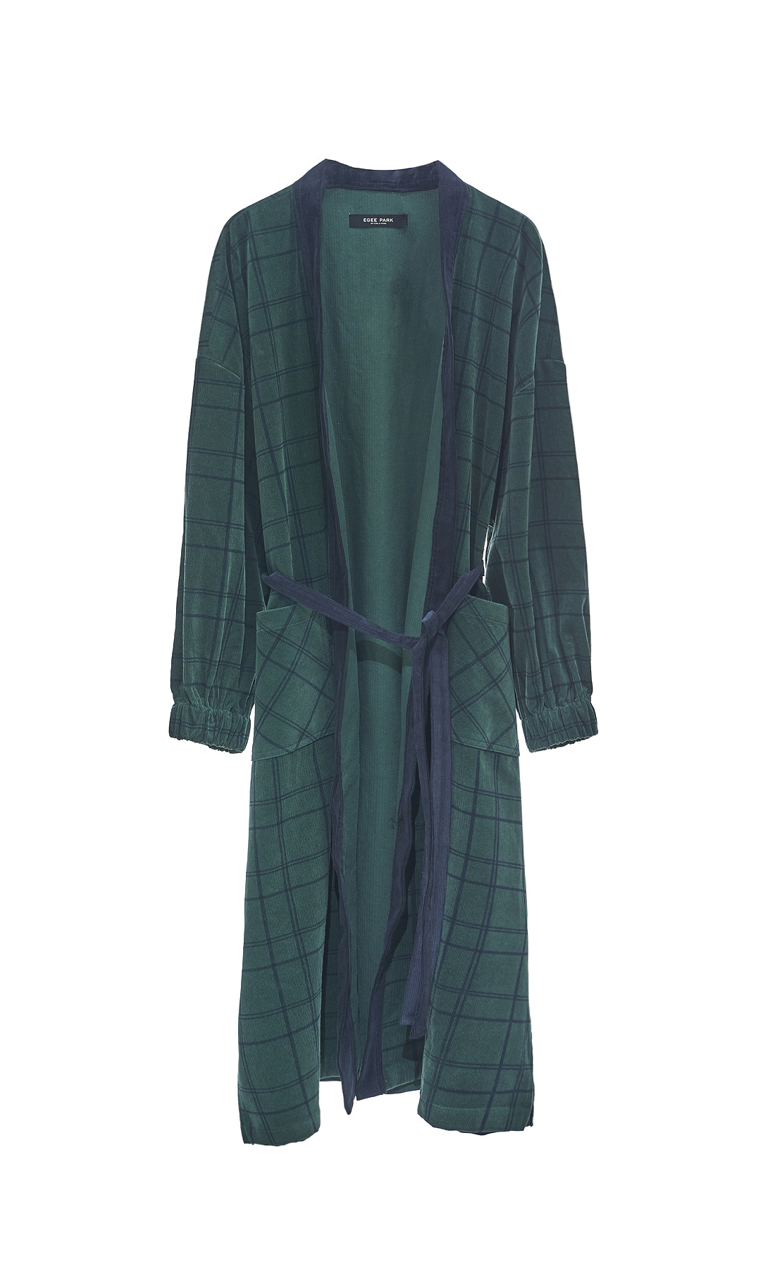 WINTER CHECK ROBE